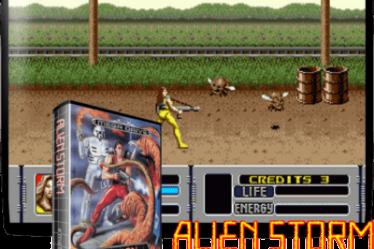 Alien Storm Mega Drive на русском