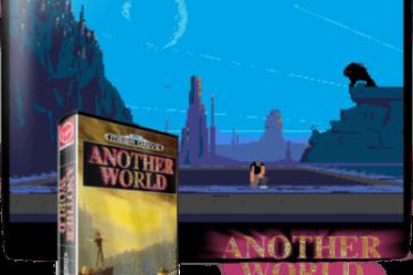 Другое название - Out of this World. Another World с русским переводом порт PC игры для Mega Drive.