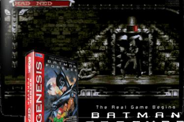 Batman Forever на русском для Mega Drive