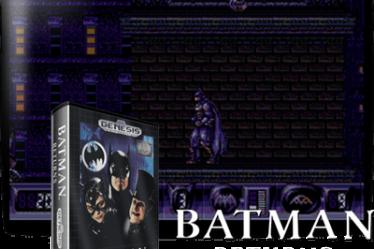 Batman Returns на русском для Mega Drive