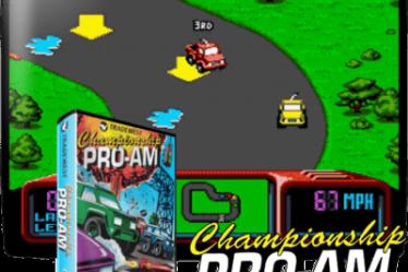 Championship Pro-Am игра на Sega