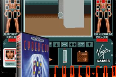 Cyber-Cop Mega Drive