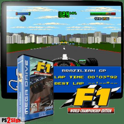 Формула 1 игра для сега