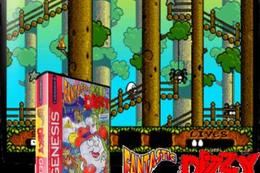 Fantastic Dizzy на Sega