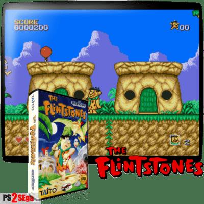 Флинстоуны на русском для Sega