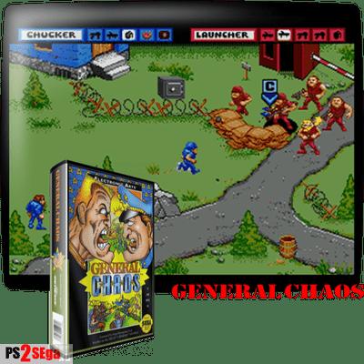 Стратегия General Chaos для Сега