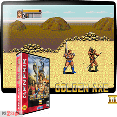 Golden Axe 3 для Сега