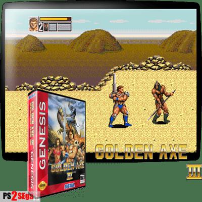 Golden Axe 3 для Сега
