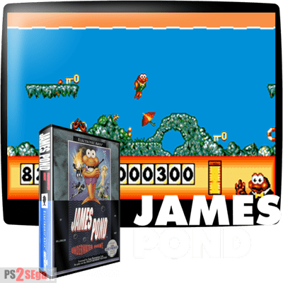James Pond SEga