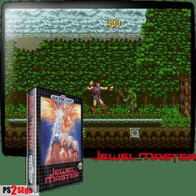 Jewel Master игра на Sega