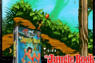 игра книга джунглей сега