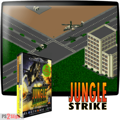 Jungle Strike sega