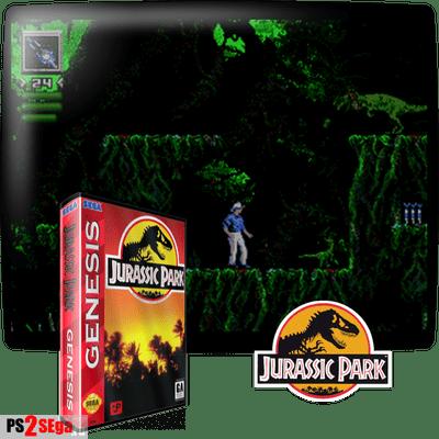 Парк Юрского периода для Sega