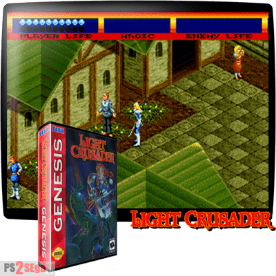 Light Crusader rpg sega