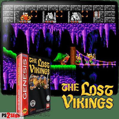 Lost Vikings sega