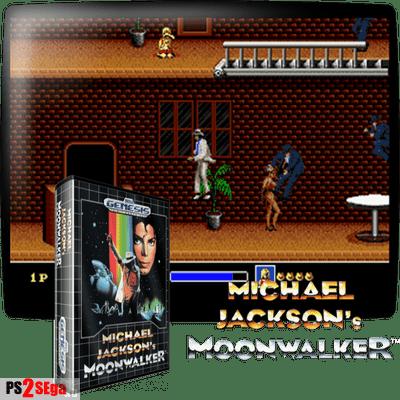 Игра про Майкла Джексона для Sega