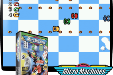 Micro Machines гонки сега