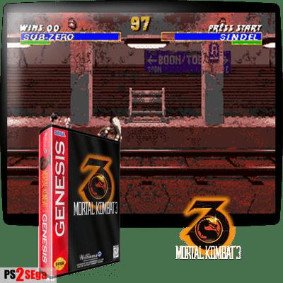 Mortal Kombat 3 Sega