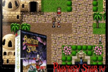 Phantasy Star RPG Sega