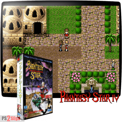 Phantasy Star RPG Sega