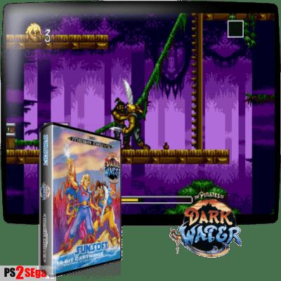 Пираты темной воды игра для Sega