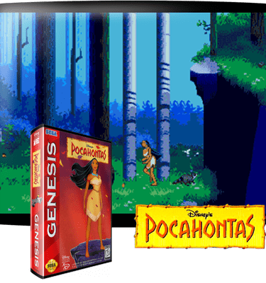 Пакахонтас Sega