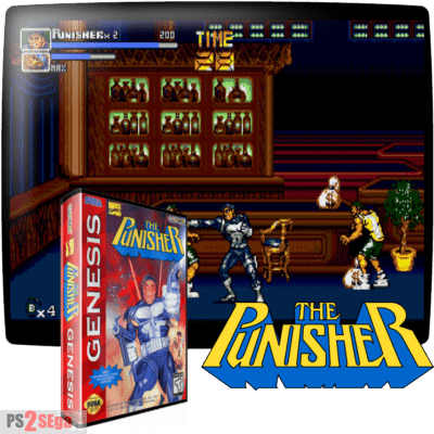 Punisher sega