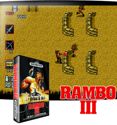 Рэмбо 3 Sega